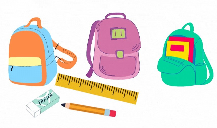 Back-to-School School Supplies Collection August 22