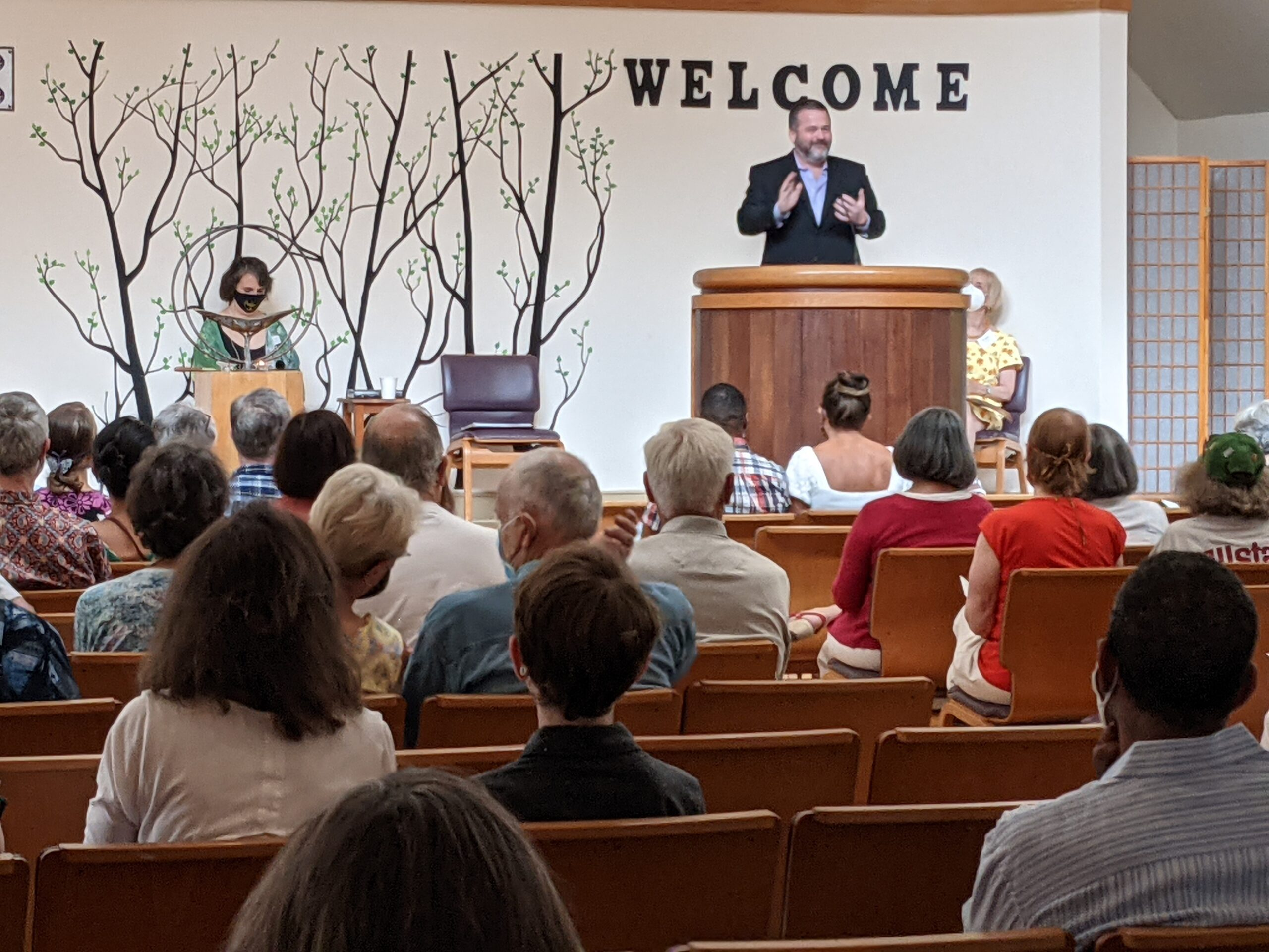 Join us for Worship Each Sunday